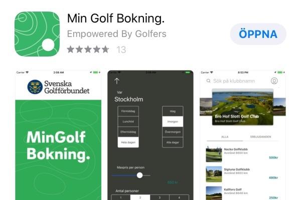 min golf app